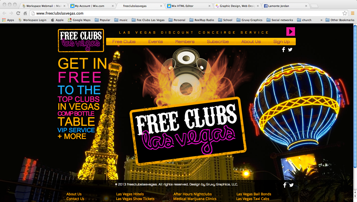 Taking Over Vegas with a New Site!