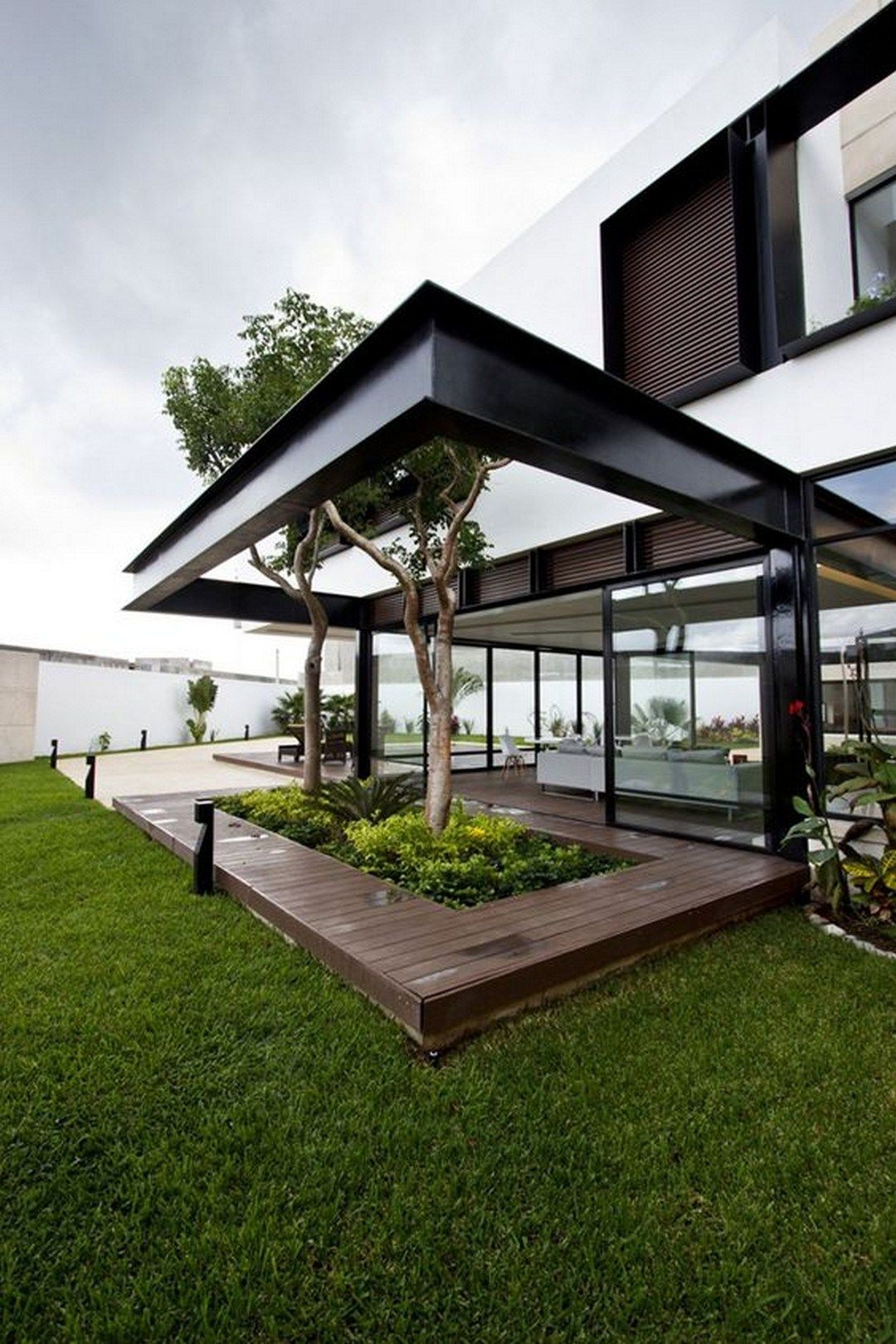 Best Modern Luxurious Flat Roof House Designs You Should Know 400 x 300