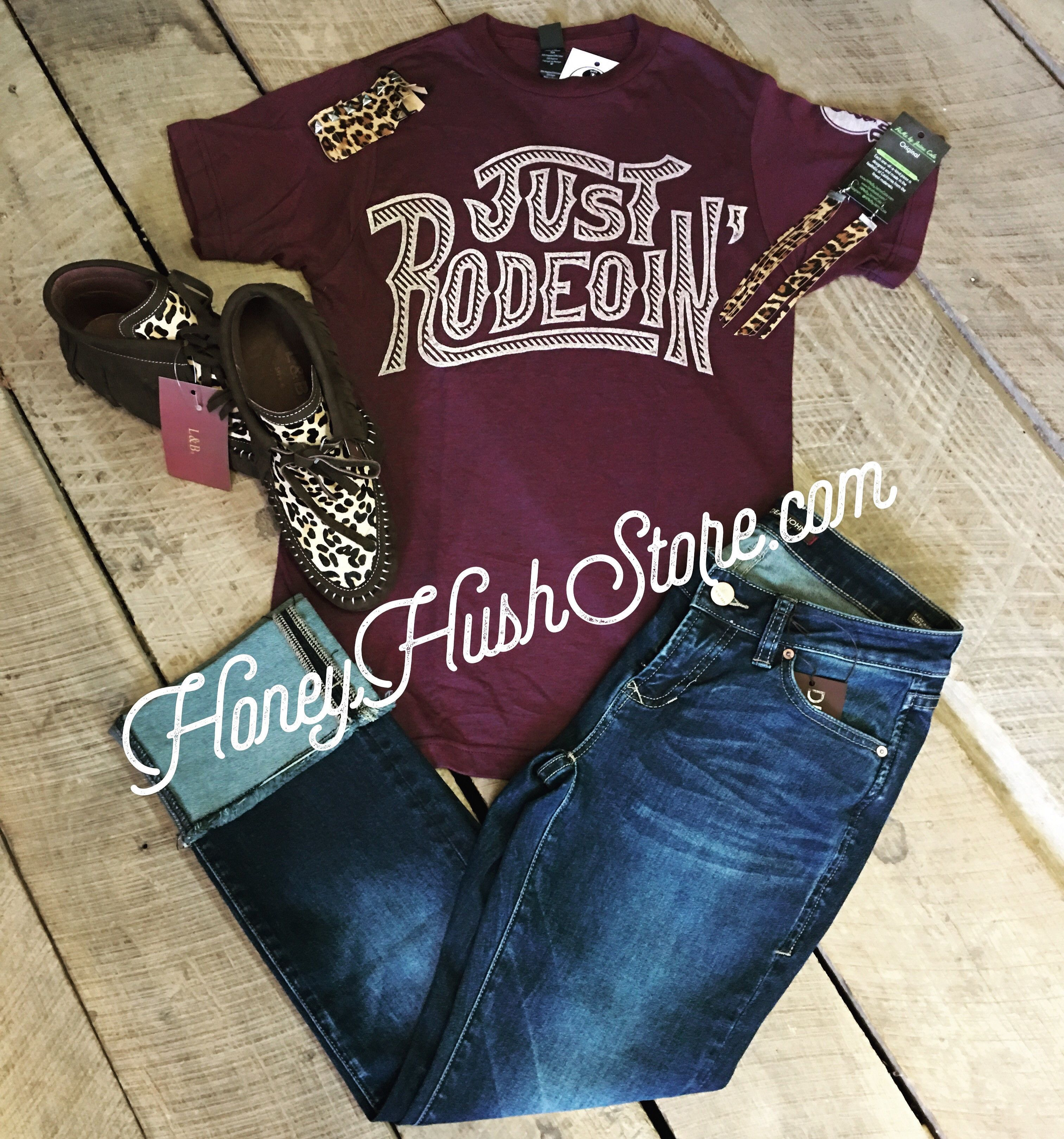 623232c3f Dale Brisby Just Rodeoin Tee in 2019 | I Wear What I Want | Dale ...