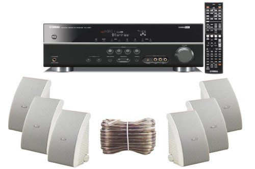 Yamaha  ready channel watts digital home theater audio video receiver with  compatible hdmi repeater  electronics stereo components also rh dk pinterest