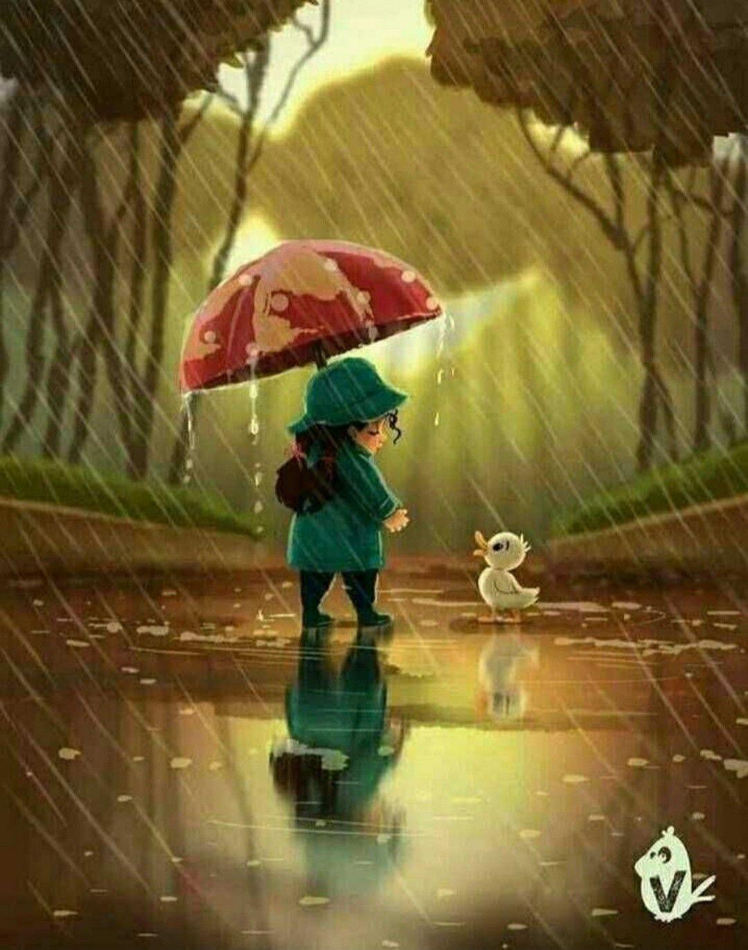 Spaziergang #cuteumbrellas