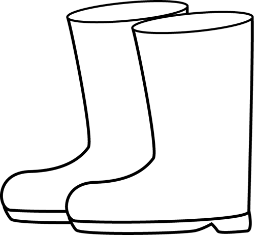 black and white rain boots clip art weather pinterest rain rh pinterest com book clip art book clip art free