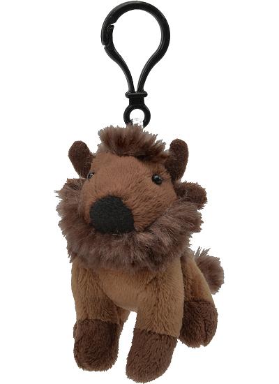 Bison Plush Clip-On Stuffed Animal by Unipak