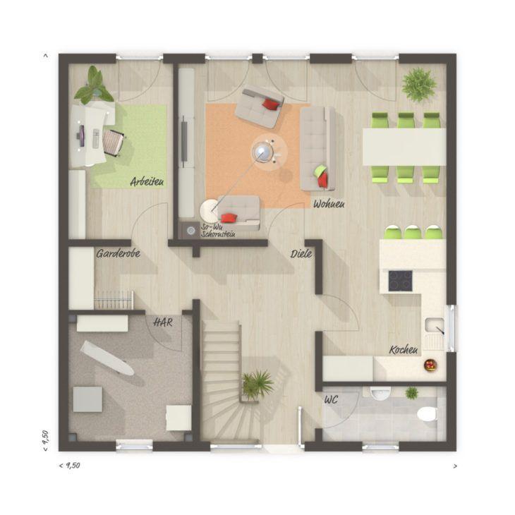 Moderne STADTVILLA 145 mit Zeltdach Town & Country Haus