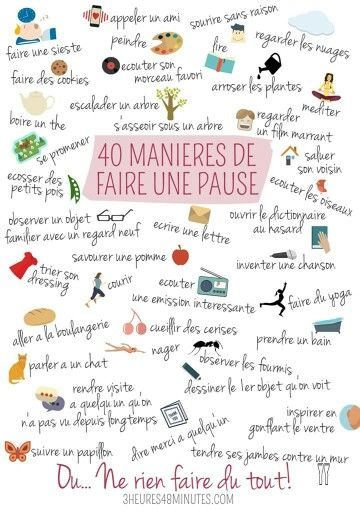 French things to do