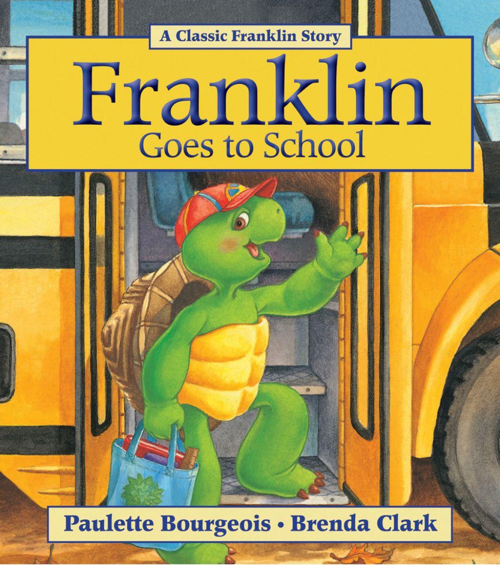 Franklin Goes To School Ebook Franklin Books Childhood Books School Reading