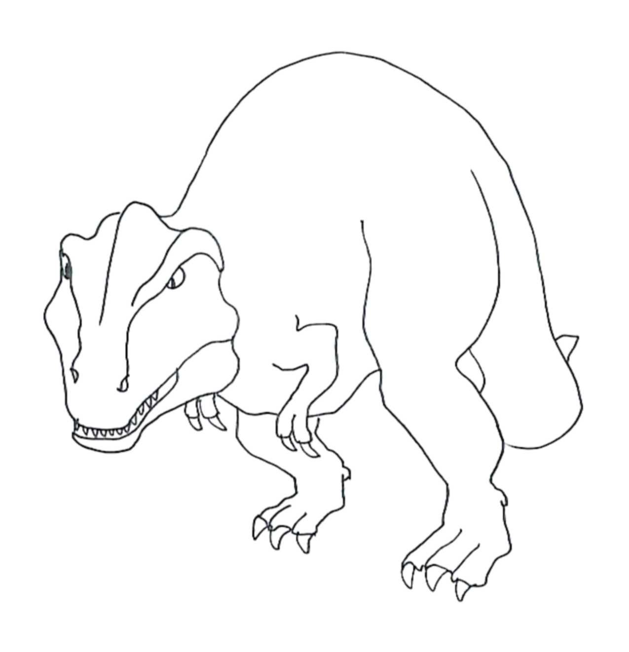 Tyrannosaurus Rex Coloring Pages | Kids Colouring Pages | Pinterest