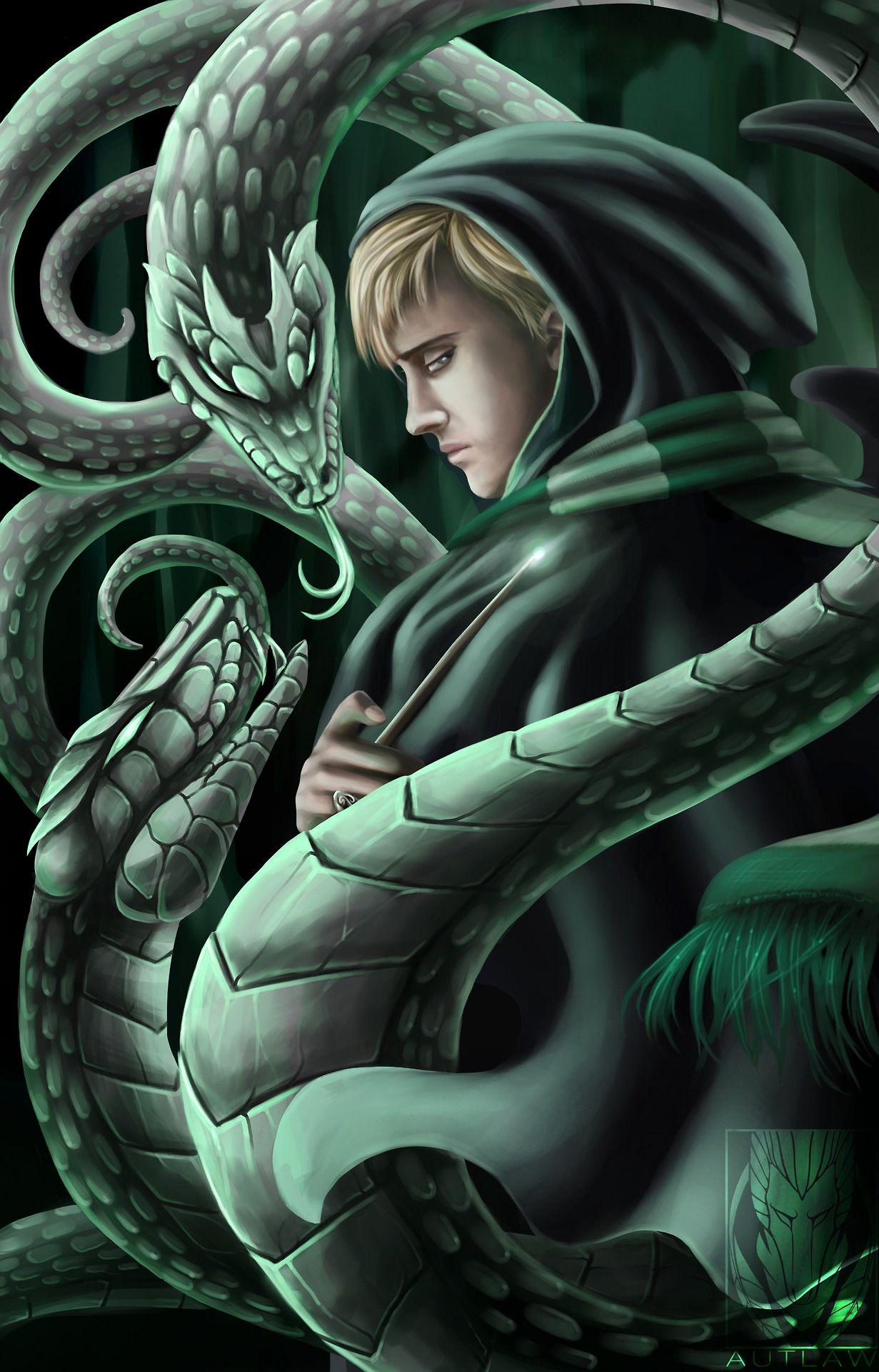 Slytherin Draco Malfoy By Autlaw As Well As A Misunderstood