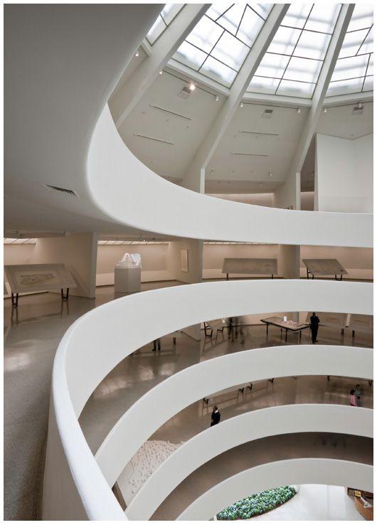 Guggenheim Museum Interior Frank Lloyd Wright Lloyd