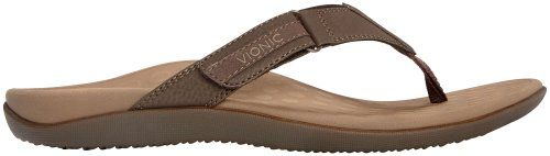 nice Vionic with Orthaheel Technology Men's Ryder Thong Sandals