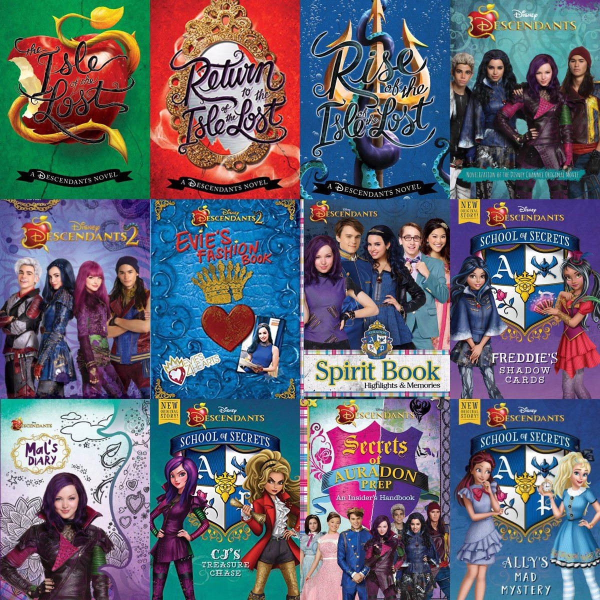 #WorldBookDay ❤️ #DisneyDescendants #Descendants2