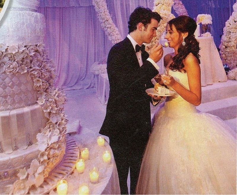 Danielle Jonas Wedding Cake