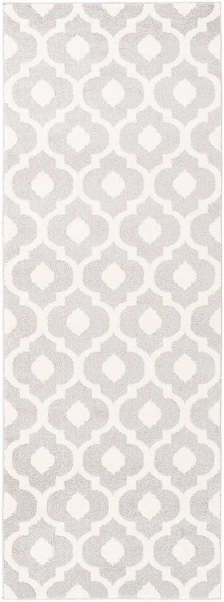 Horizon Ivory Light Gray Runner Rug Gray Runner Rug Geometric Area Rug Rugs