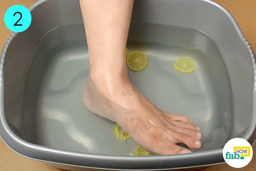 Image result for LEMON WATER foot