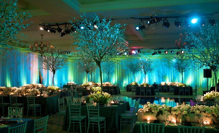 Image Result For Turquoise Uplighting