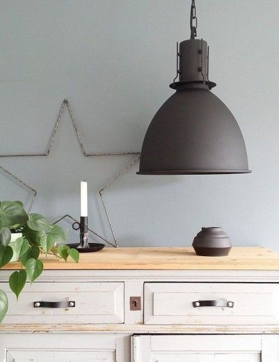 hanglampen  HOME  moodboard woonkamer  Industrile