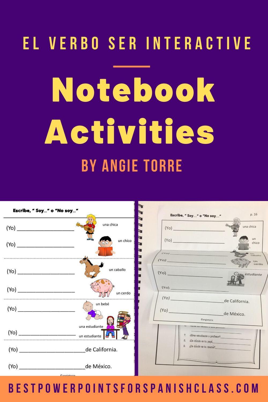 Spanish Ser Activities And Student Handout Best Powerpoints Interactive Notebook Activities Spanish Interactive Notebook Activities Interactive Notebooks [ 1500 x 1000 Pixel ]