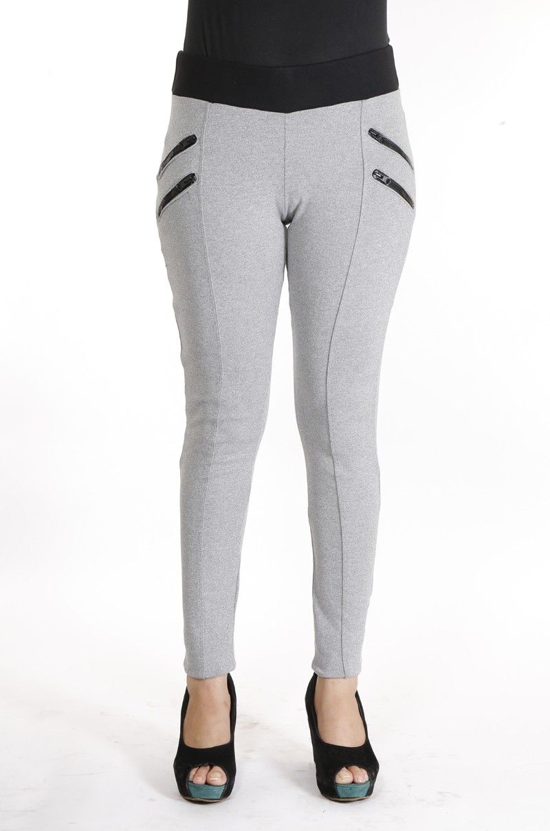 1b9575966494d4 DOPE Girl's Leggings - Buy Milange Grey DOPE Girl's Leggings Online at Best  Prices in India