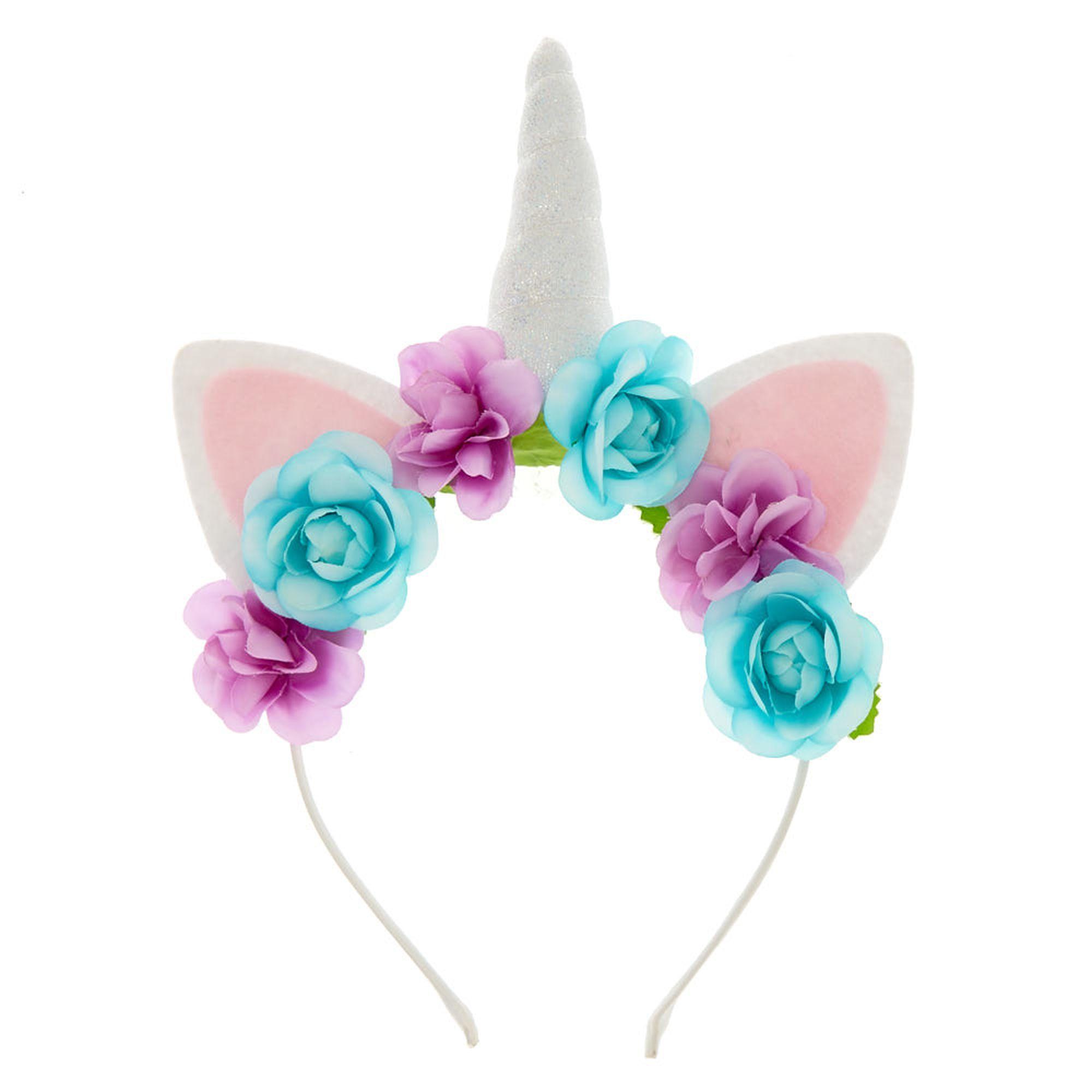 Pastel Unicorn Flower Headband  c5a30d3e7ac