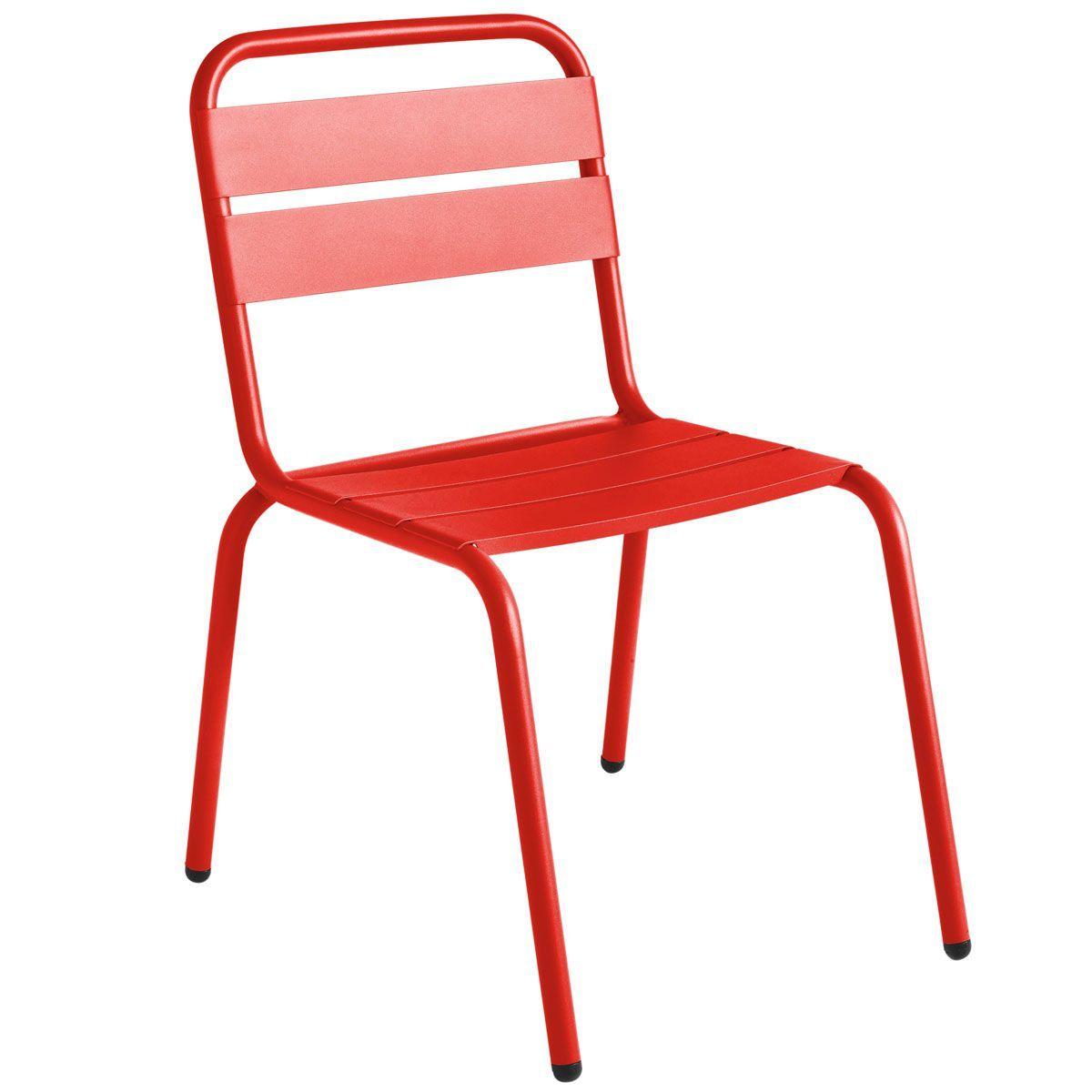 Chaise de jardin ISI aux accents toniques qui n\'exclus pas ...