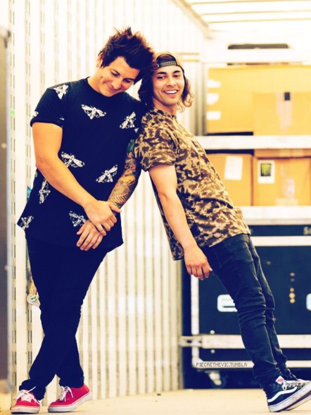 Jaime Preciado & Vic Fuentes // Pierce The Veil