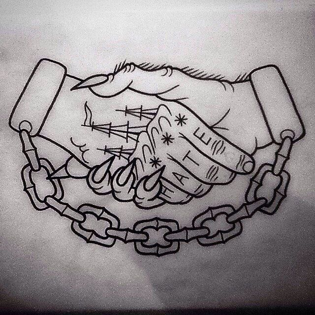 Down With My Demons Tattoo: Традиционные татуировки, Вдохновляющие