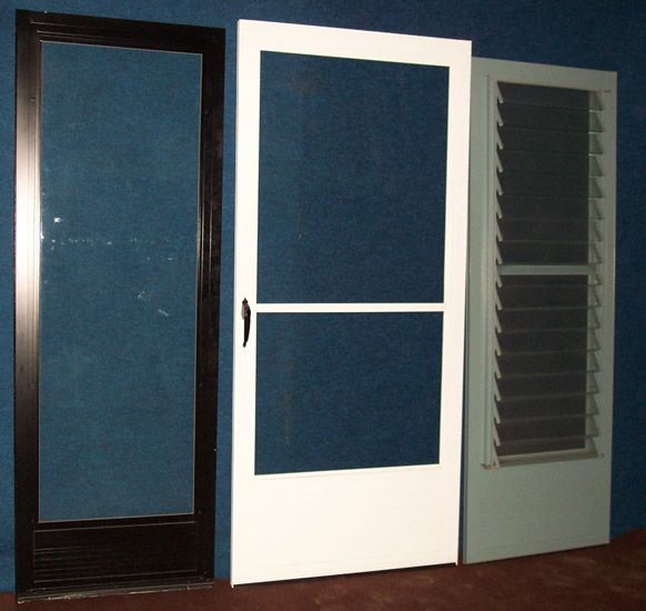 Burch Custom Made Storm Doors Available In Any Color You Desire.