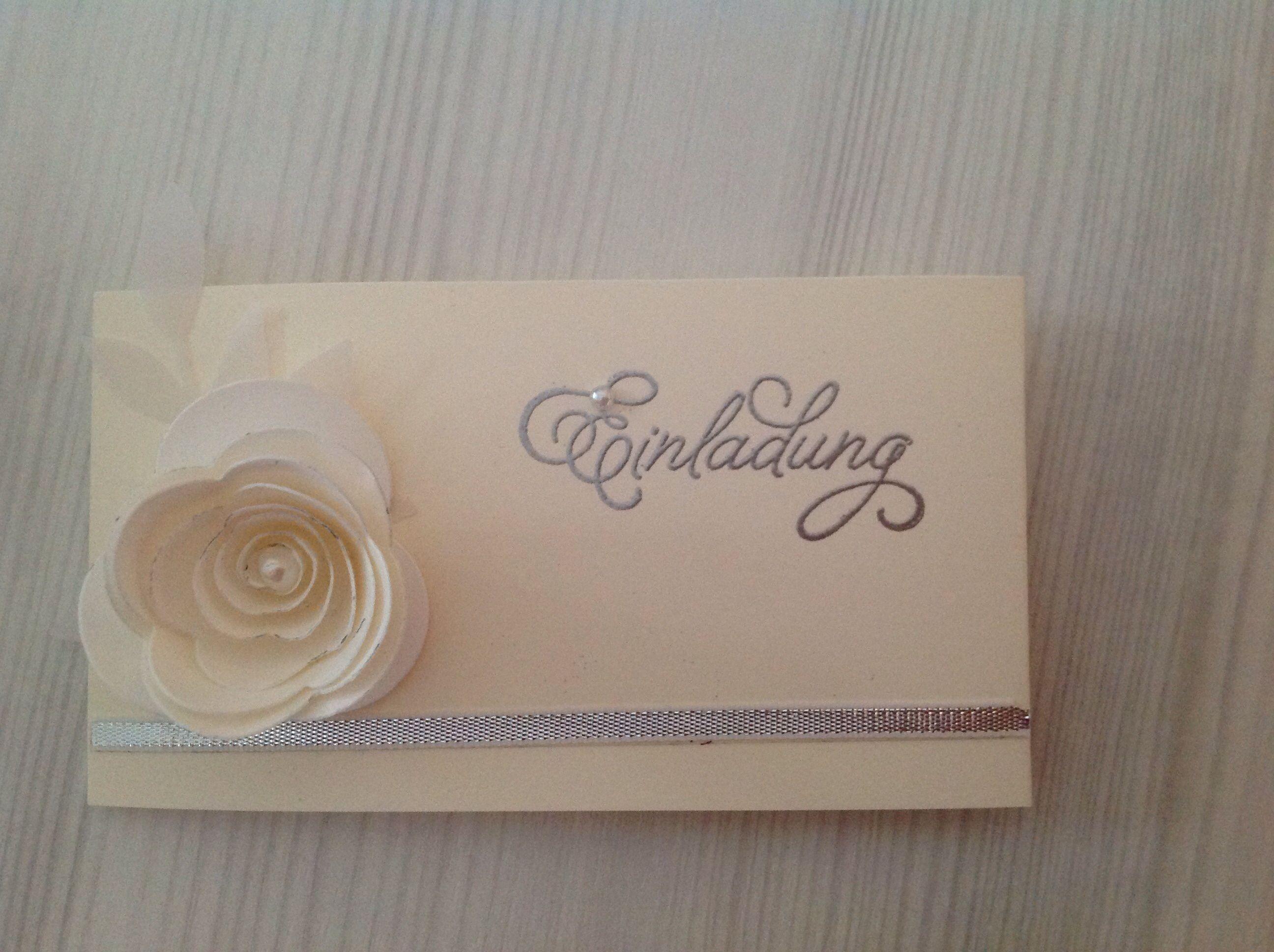 Einladungskarten Diamantene Hochzeit Selber Machen