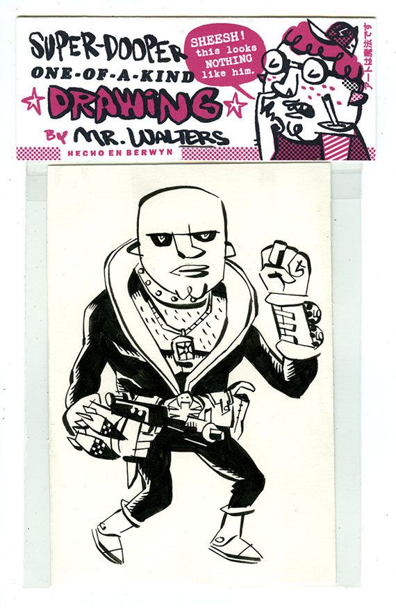 Cobra Assistant Manager Destro Drawing by mrwalters on Etsy, $10.00