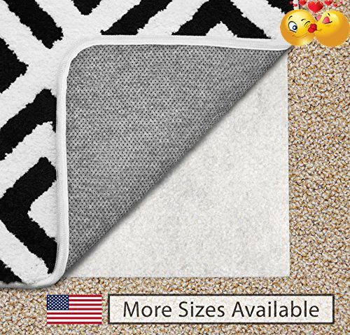 The Original Gorilla Grip Tm Non Slip Area Rug Pad For Carpet Made In Usa Available 2x3 3x5 5x7 5x8 4x6 2x4 2x8 6x9 8x10 8x11 9x12