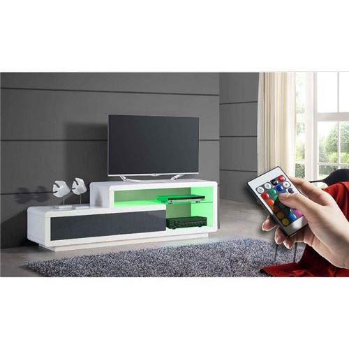 meuble tv mistergooddeal, achat pas cher moss meuble tv design ... - Meuble Tv Designe