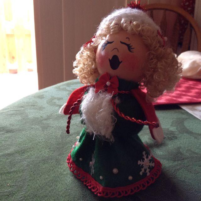 Caroler doll.