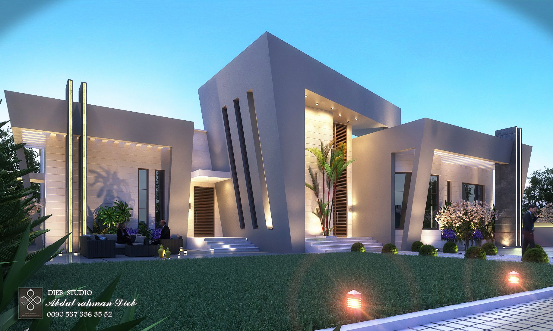 Decoration Villa Moderne Pin By Dieb Studio On Dieb Studio Exterior Designs تصميم خارجي