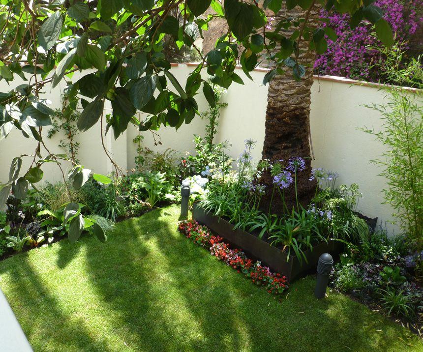 Proyecto de jard n con estilo ingl s jardin pinterest for Jardines con estilo