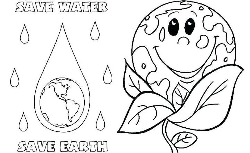 Disney Earth Day Coloring Pages Earth Day Coloring Page To
