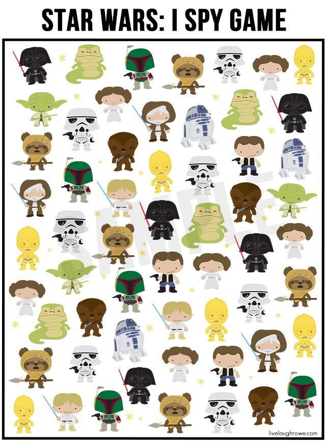 photograph about Star Wars Printable Crafts called Pin upon Small children Foods, Crafts + Actions