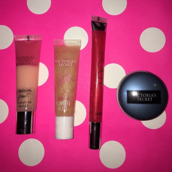 NEW Victoria's Secret pink lip glosses NEW Victoria's Secret pink lip glosses PINK Victoria's Secret Accessories