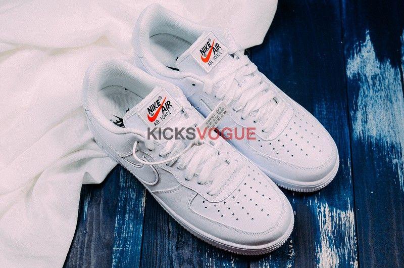 size 40 f8b4b e65d8 Nike Air Force 1 Low Swoosh Pack All-Star 2018 White AH8462-102 -
