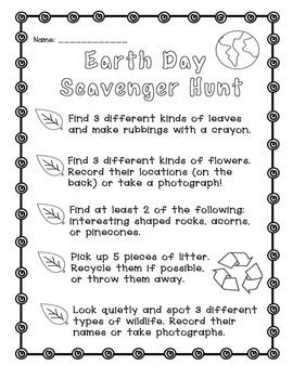 Earth Day Free Earth Day Worksheets Earth Day Activities Earth Day
