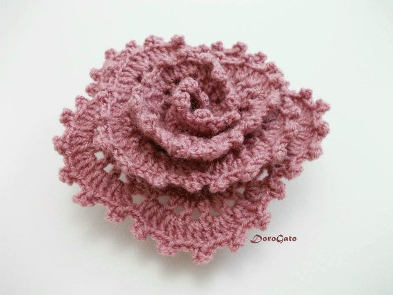 PDF DOWNLOAD Easy crochet flower pattern crochet by PatternsDG ...