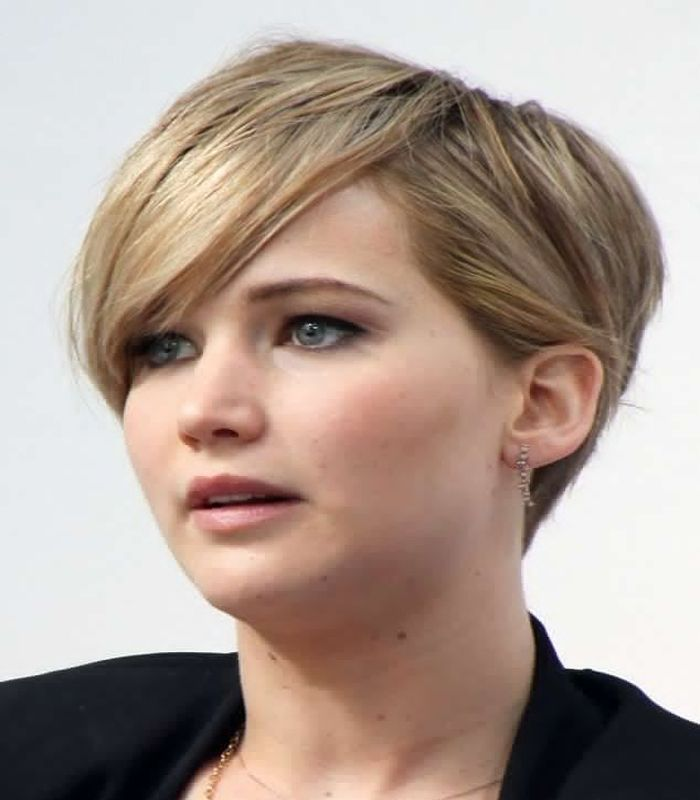 Actress jennifer lawrence explains pixie cut in interview
