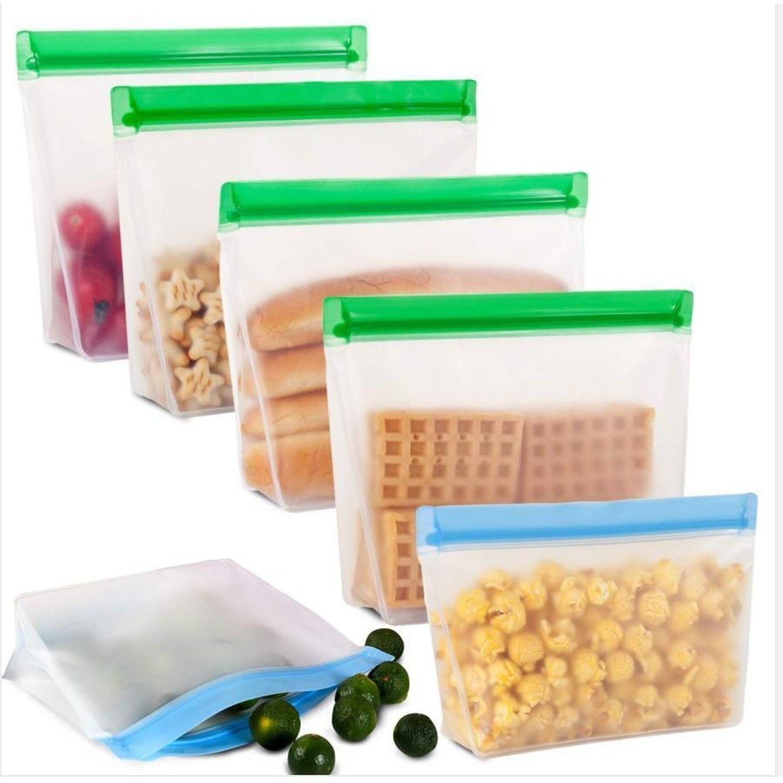 Reusable Ziplock Bags Reusable Sandwich Bags Food Storage Bags Rzbg Reusable Sandwich Bags Ziplock Bags Food Storage Bags