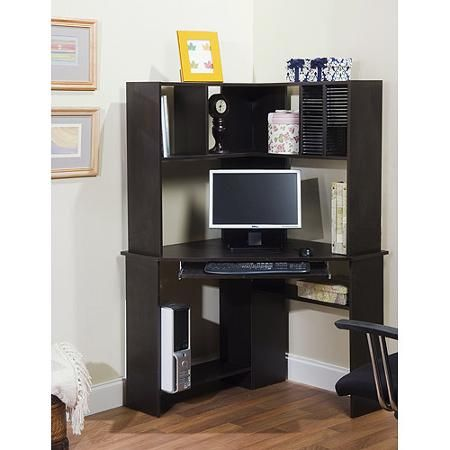 Exceptionnel Corner Desk And Hutch Units Greatly Resemble Corner Armoire Desks. Choosing  A Budget Friendly