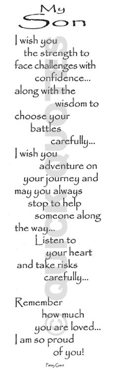 My Wish For My Son I Love You Quotes Pinterest Daughter