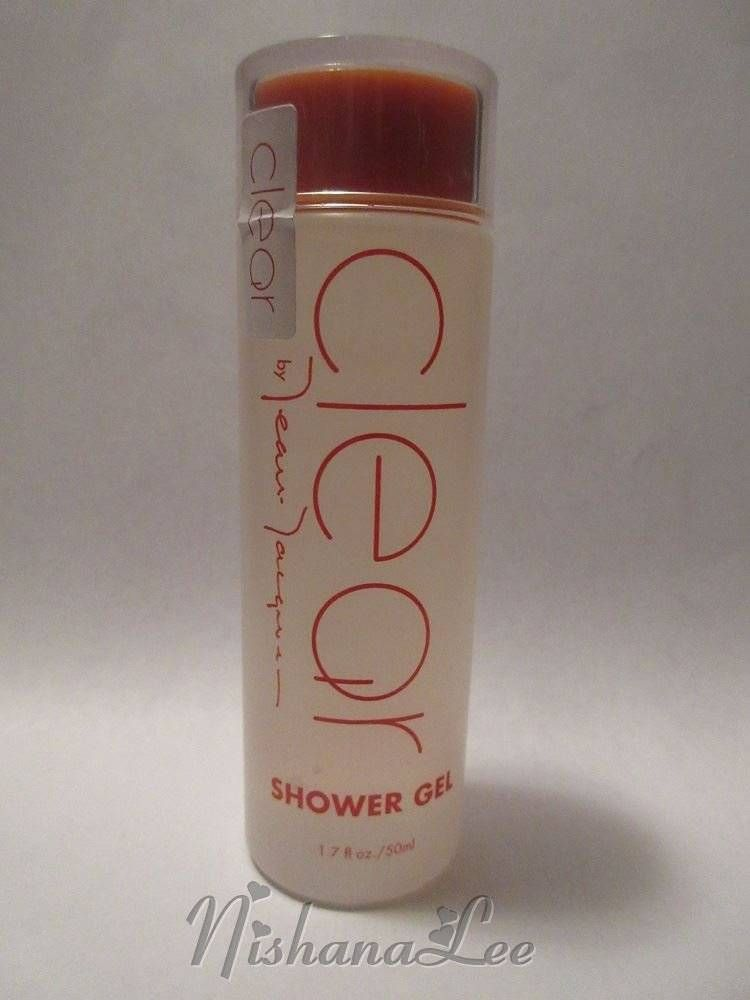 New Sealed Jean Jacques Clear Shower Gel 1.7 oz #JeanJacques
