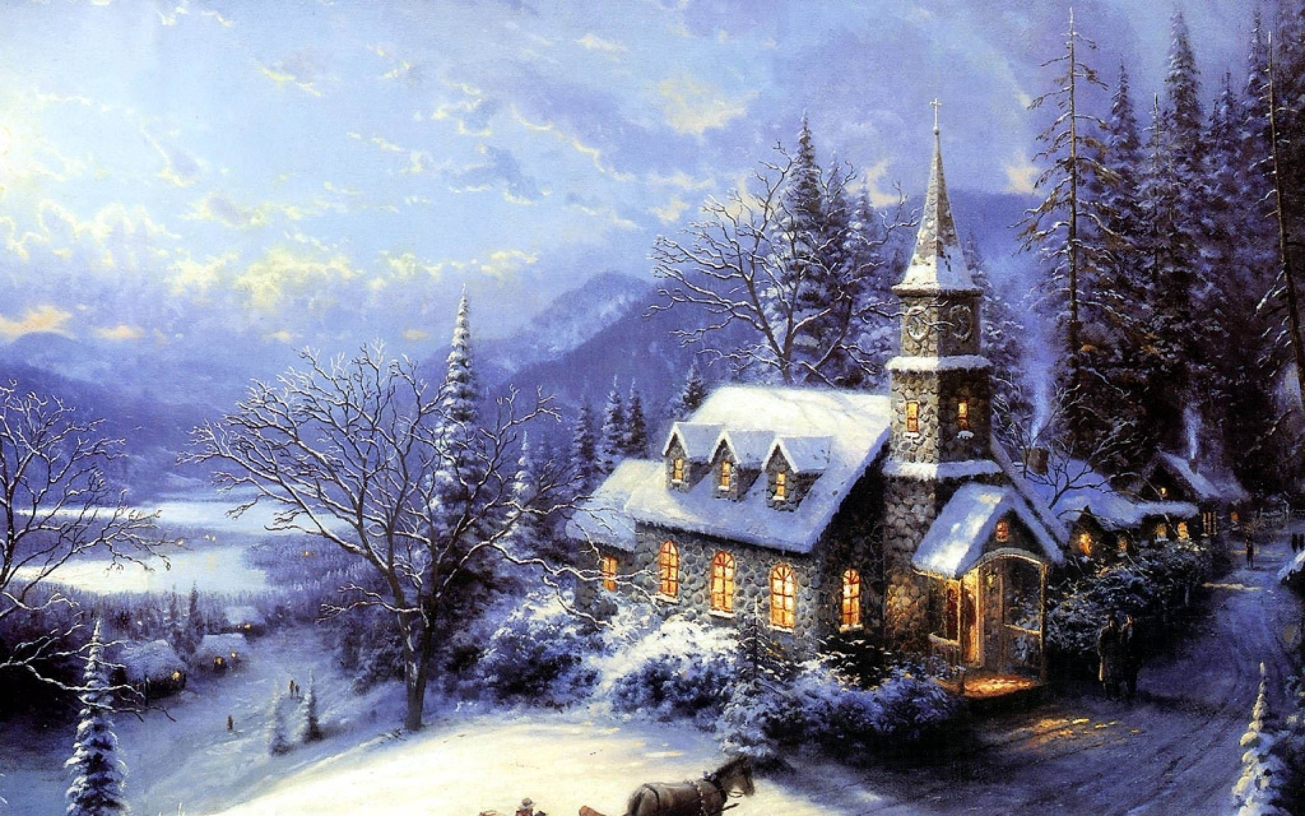 Thomas Kinkade Christmas Backgrounds Wallpaper Cave Thomas Kinkade Paintings Thomas Kinkade Art Thomas Kinkade