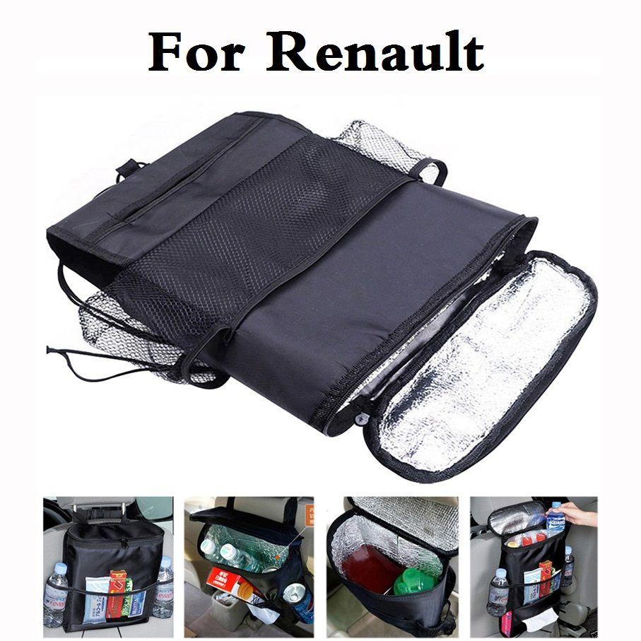 New Car Style Cooler Organizer Storage Bag Back Seat Holder For