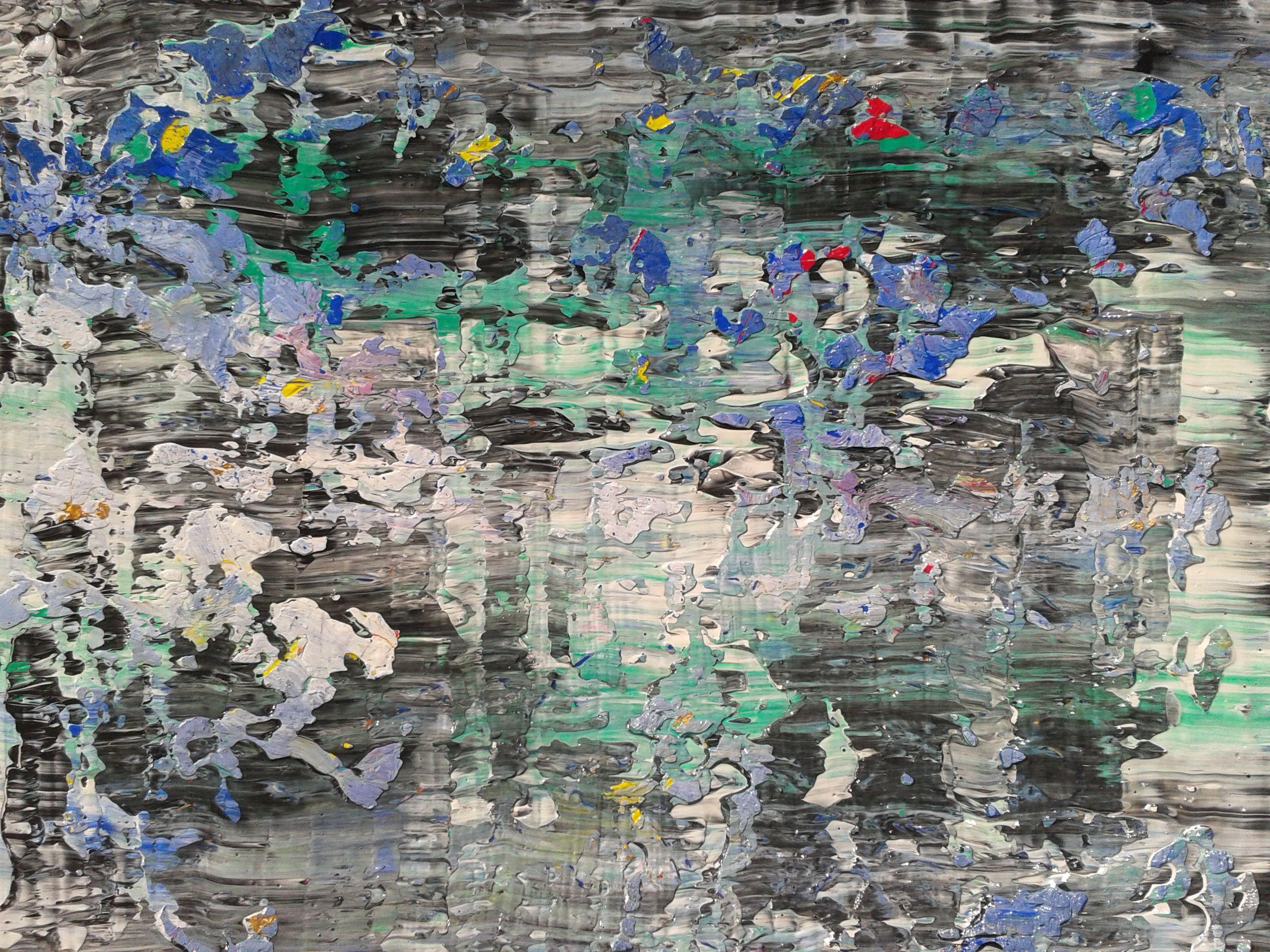acrylic painting 50 x 70 cm