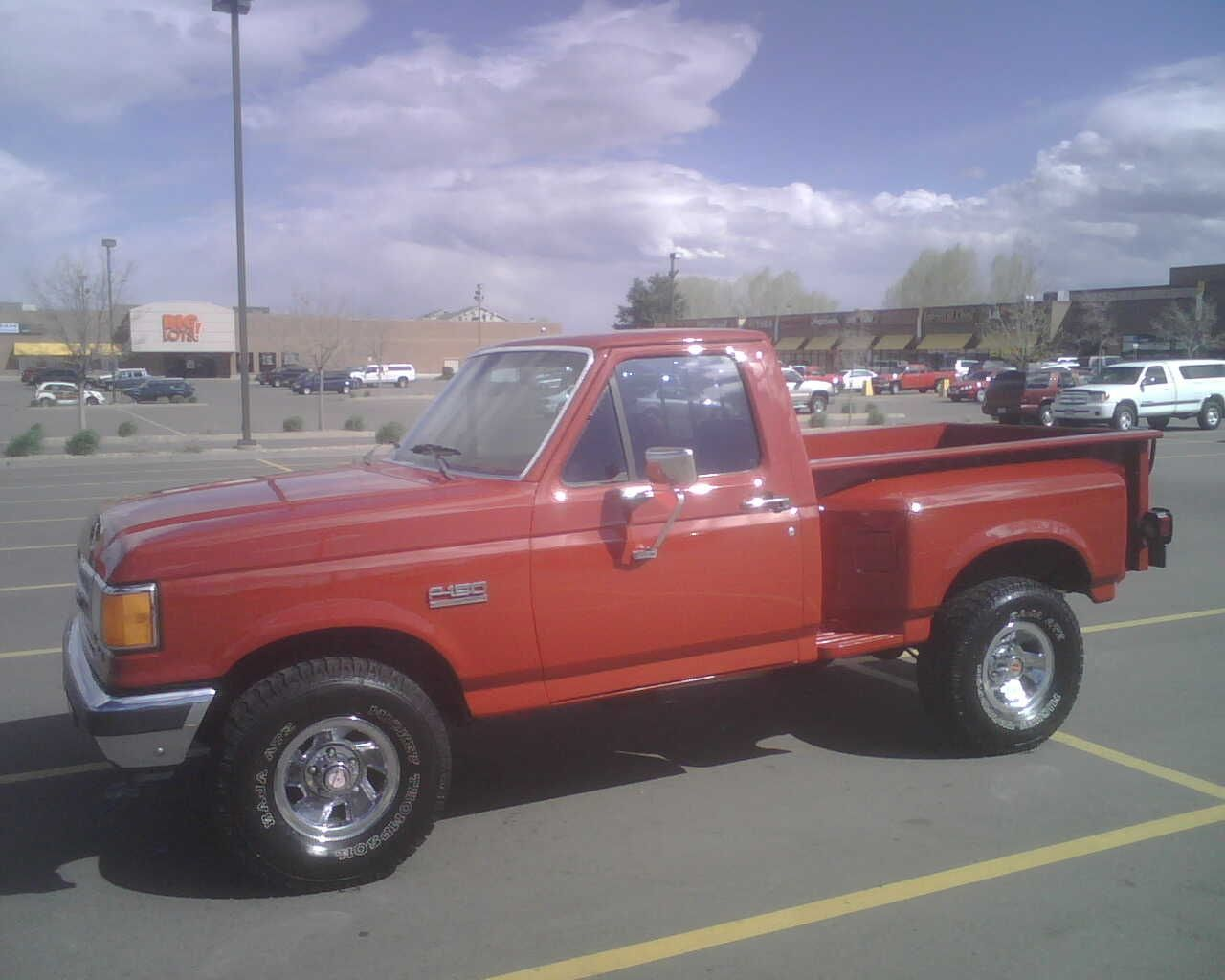 1987 Ford F150 >> 1987 Ford F150 1987 F 150 Short Box Step Side Info