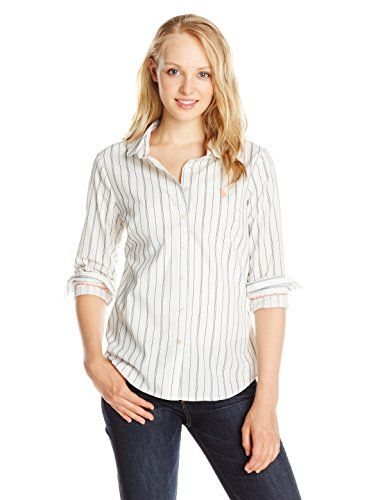 U.S. Polo Assn. Junior's Vertical Stripe Dobby Shirt, Marshmallow, X-Large U.S. Polo Assn. http://www.amazon.com/dp/B00UUGNY52/ref=cm_sw_r_pi_dp_rJJCwb1N1808Z